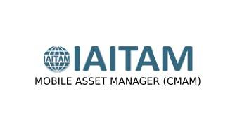 IAITAM Mobile Asset Manager (CMAM) 2 Days Training in Hamilton City