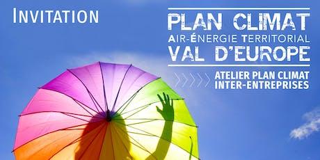 Plan Climat Val d'Europe | Atelier Inter-entreprises tickets