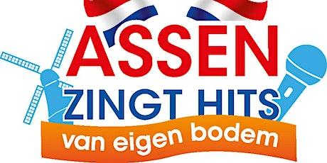 Assen zingt hits van eigen bodem. tickets