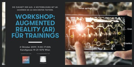(Pre-Release Einladung) Workshop: Augmented Reality (AR) für Trainings Tickets