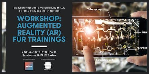 (Pre-Release Einladung) Workshop: Augmented Reality (AR) für Trainings