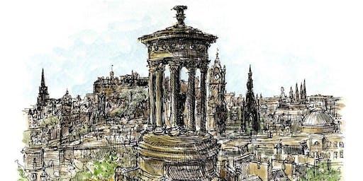 Moleskine Sketching Workshop with Edinburgh Sketcher 'Introduction to Watercolour'
