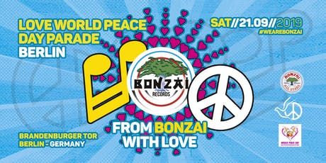 Bonzai Love World Peace Parade - Bus & Truck Tickets Tickets