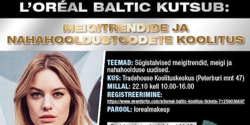 L'Oreal Baltic koolitus