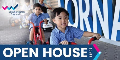 Lorna Whiston Preschool Open House @ Kallang Wave Mall tickets