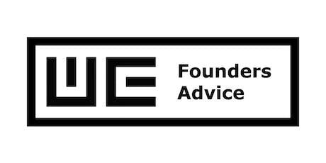 FoundersAdvice #89 Tickets