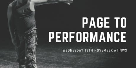 Page to Performance  tickets