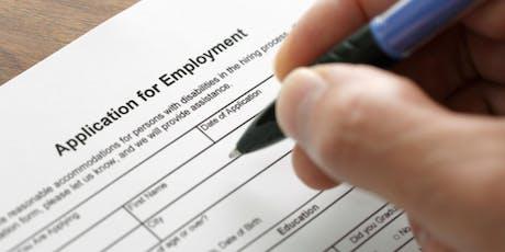 Job seeker workshops - October tickets