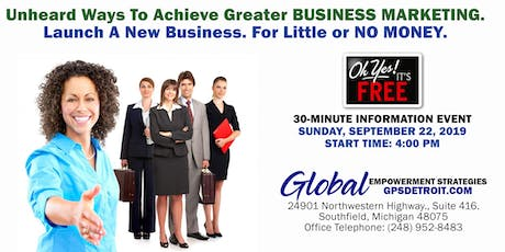 Essential BUSINESS Internet Marketing and Business Ideas for Little Money. tickets