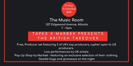Tapes UK  &  Marbeck Takeover at A3C Festival 2019 tickets