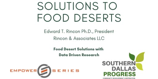 Food Deserts Solutions with Data Driven Research