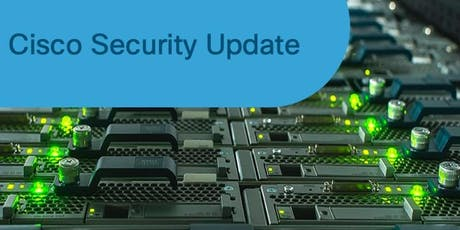 Cisco Security Update - Salzburg Tickets