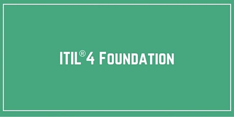 ITIL® 4 Foundation Training & Certification in Manila tickets