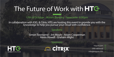 The Future of Work with HTG - 17th October 2019 tickets