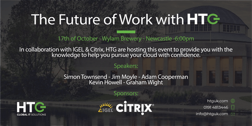 The Future of Work with HTG - 17th October 2019