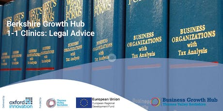 Legal Advice Clinic for Berkshire Businesses - Maidenhead, 2 October 2019 tickets