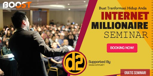 Seminar Strategi Bisnis Internet Millionaire