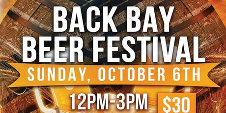 Back Bay Beer Festival at Back Bay Social  tickets