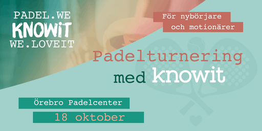 Knowit Padelturnering 2019
