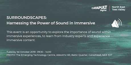 Discover Surroundscapes: Harnessing the power of sound in immersive tickets
