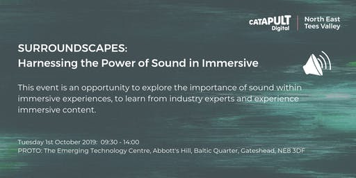 Discover Surroundscapes: Harnessing the power of sound in immersive
