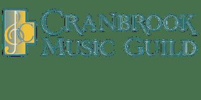2019-2020 Cranbrook Music Guild