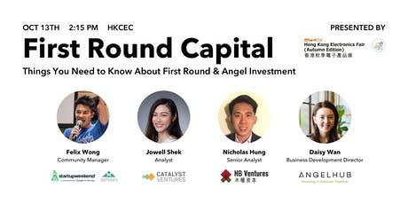 First Round Capital for Startups tickets