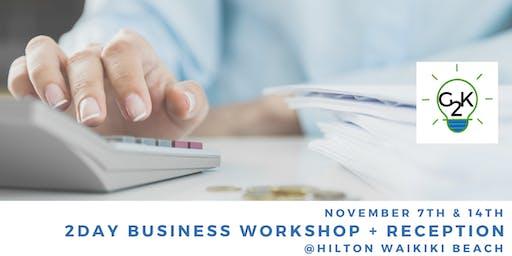 Business Tax Workshop