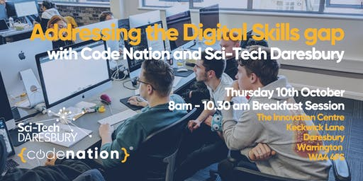 Breakfast Event with Code Nation and Sci-Tech Daresbury