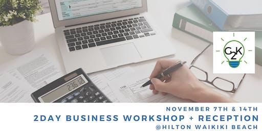Business Planning, Marketing, Financial, Tax, Retirement Workshop