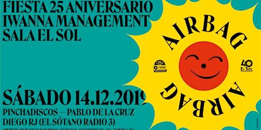 Airbag en Madrid. El Sol. Fiesta 25 aniversario I Wanna Management