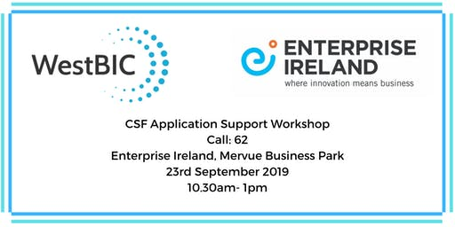 CSF Application Support Workshop- All Sectors