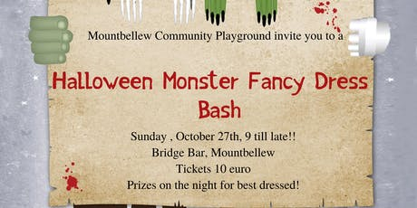Halloween Fancy Dress Party- Mountbellew Community Playground  tickets