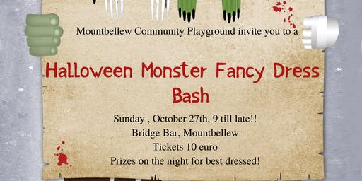Halloween Fancy Dress Party- Mountbellew Community Playground