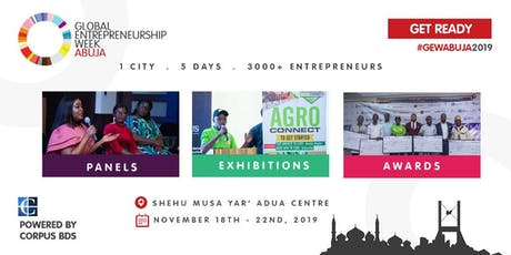 GLOBAL ENTREPRENEURSHIP WEEK  (GEW) ABUJA 2019 tickets