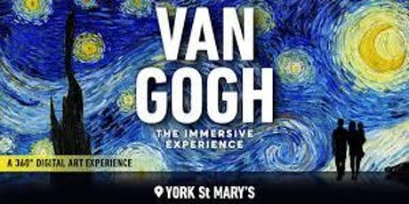 SASH evening at The Van Gogh immersive Exhibition tickets