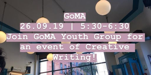 Creative Writing with the GoMA Youth Group