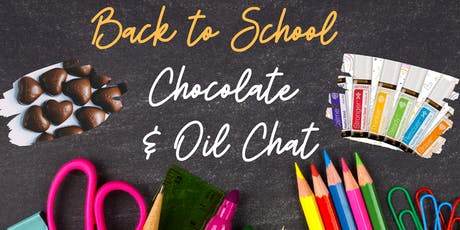 Chocolate and Oils Chat tickets