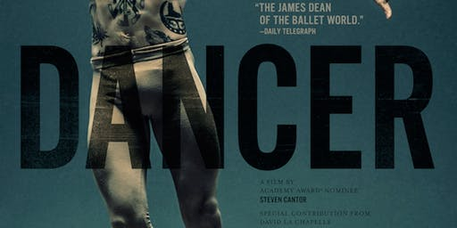 Dancer - Encore Screening - Tuesday 5th November - Brisbane
