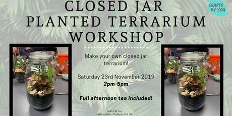 Closed Jar Planted Terrarium Workshop tickets