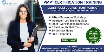 PMP® Certification Training Course in Hartford, CT | 4-Day PMP Boot Camp
