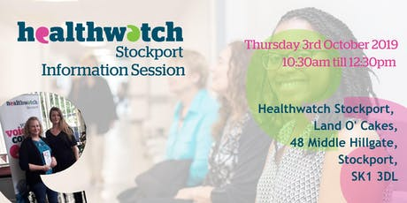 Healthwatch Stockport Information Session tickets