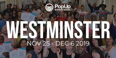 Westminster November 2019 - PopUp Business School tickets