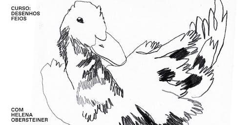 Curso: Desenhos Feios com Helena Obersteiner @kiddowar