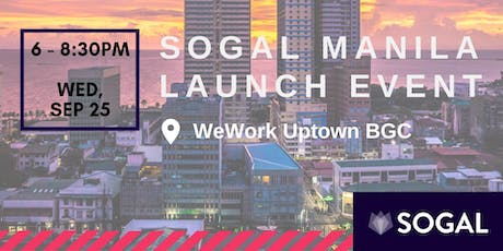 Sogal Manila: Launch Event! tickets