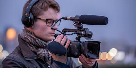 Professionelle Videoproduktion beim Foto Dinkel in München Tickets
