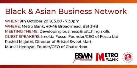 Black & Asian Business Network event tickets