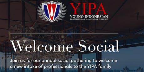YIPA Welcome Social tickets