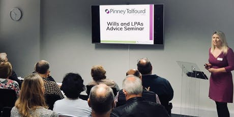 Free Wills, LPA & Contested Probate Seminar in Brentwood tickets