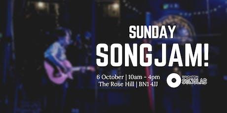 Sunday SongJam! tickets